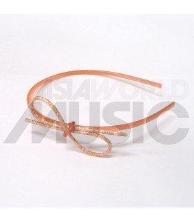 Serre-tête boucle (orange)