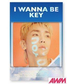 KEY (키) Vol. 1 Repackage - I Wanna Be (Kihno Album) (édition coréenne)