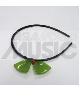 Serre-tête gros ruban (vert)