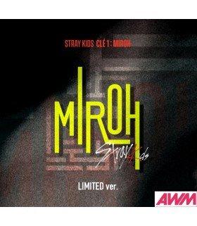 Stray Kids (스트레이 키즈) Mini Album - CLÉ 1 : MIROH (édition limitée coréenne)