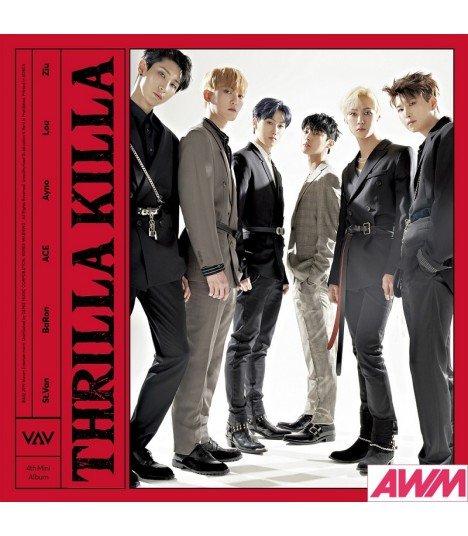VAV (브이에이브이) Mini Album Vol. 4 - Thrilla Killa (édition coréenne)