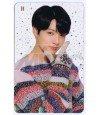 BTS - Carte transparente JUNGKOOK (LG WINTER PHOTOSHOOT)