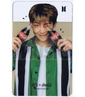 BTS - Carte transparente RM (RAP MONSTER) (COCA COLA PHOTOSHOOT)