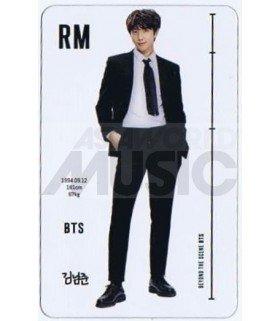 BTS - Carte transparente RM (RAP MONSTER) (ID CARD)