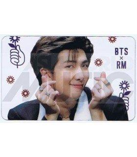 BTS - Carte transparente RM (RAP MONSTER) (GRAFFITI FLOWERS)