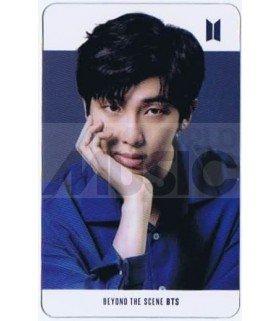 BTS - Carte transparente RM (RAP MONSTER) (LG PHOTOSHOOT)