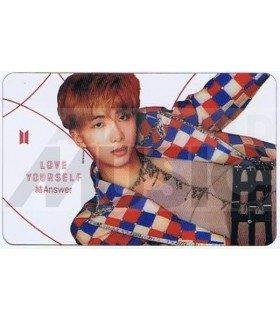 BTS - Carte transparente RM (RAP MONSTER) (LOVE YOURSELF ANSWER / VERSION S)