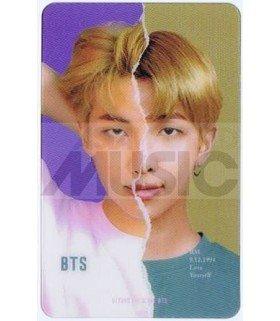 BTS - Carte transparente RM (RAP MONSTER) (LOVE YOURSELF ANSWER / VERSION L)