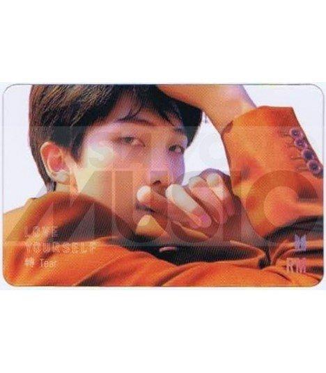 BTS - Carte transparente RM (RAP MONSTER) (LOVE YOURSELF TEAR / VERSION Y)