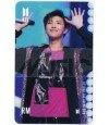 BTS - Carte transparente RM (RAP MONSTER) (FAKE LOVE / MBC SHOW MUSIC CORE)