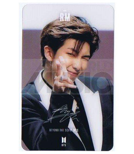 BTS - Carte transparente RM (RAP MONSTER) (LOVE YOURSELF TEAR / FANSIGN)