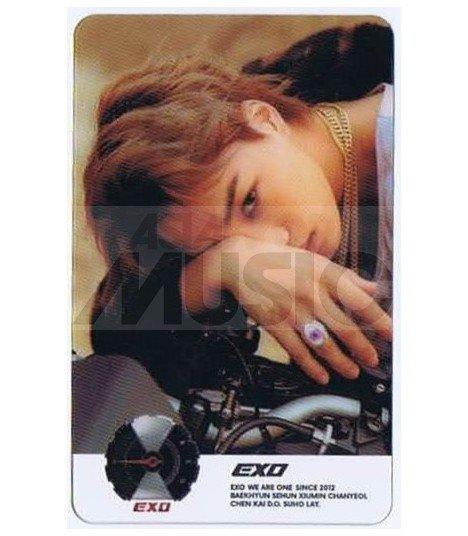 EXO - Carte transparente KAI (DON'T MESS UP MY TEMPO / VERSION MODERATO)