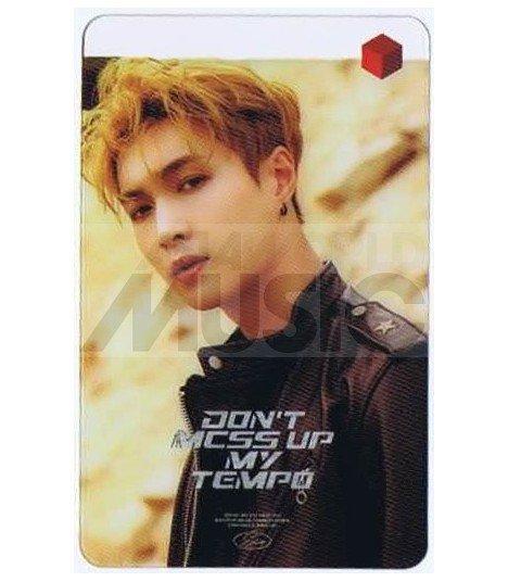 EXO - Carte transparente LAY (DON'T MESS UP MY TEMPO / VERSION MODERATO)