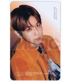 EXO - Carte transparente BAEKHYUN (DON'T MESS UP MY TEMPO / VERSION ANDANTE)
