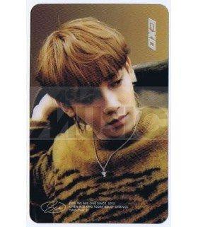 EXO - Carte transparente CHEN (DON'T MESS UP MY TEMPO / VERSION ANDANTE)