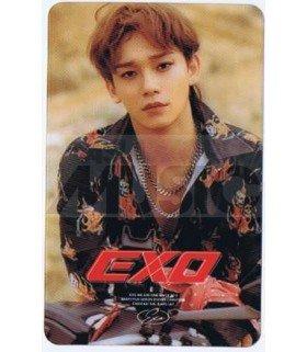 EXO - Carte transparente CHEN (DON'T MESS UP MY TEMPO / VERSION MODERATO)