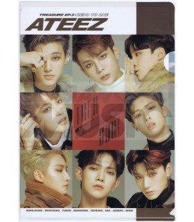 ATEEZ - Porte-Document Double Cover 001