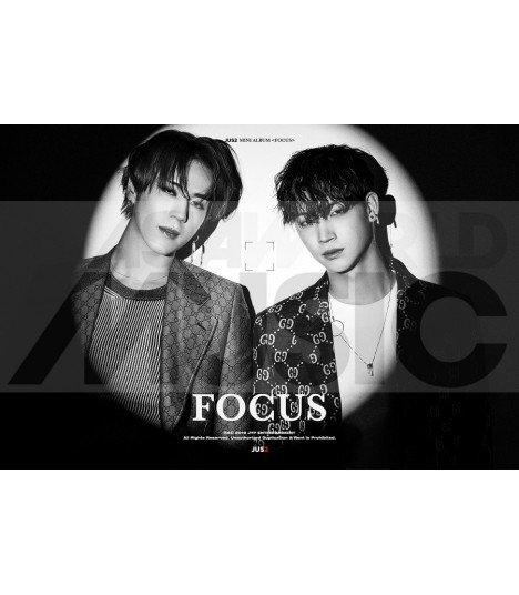 Affiche officielle JUS2 Mini Album Vol. 1 - FOCUS