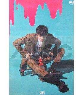 Affiche officielle Wooseok X Kuanlin - 9801 (Version Wooseok)