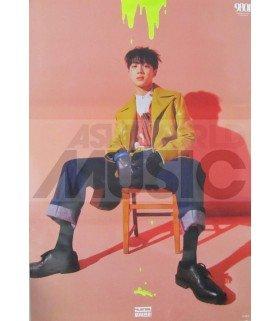 Affiche officielle Wooseok X Kuanlin - 9801 (Version Kuanlin)