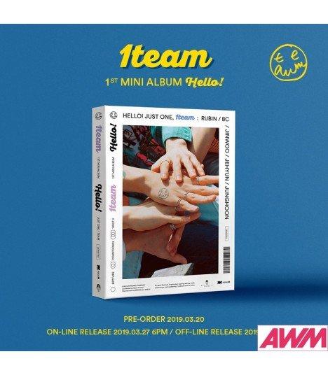 1TEAM (원팀) Mini Album Vol. 1 - HELLO! (édition coréenne)