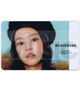 BLACKPINK - Carte transparente JENNIE (GUESS WINTER PHOTOSHOOT / TYPE A)