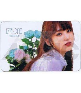 IZ*ONE - Carte transparente NAKO (COLORIZ / VERSION ROSE)