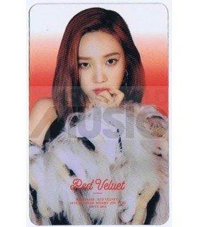 RED VELVET - Carte transparente JOY (CHICTEEN MAGAZINE)