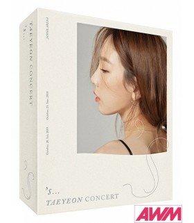 TAEYEON (태연) S'... TAEYEON CONCERT Kihno Video (édition coréenne)