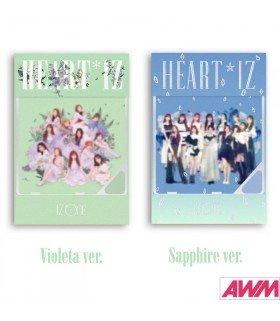 IZ*ONE (아이즈원) Mini Album Vol. 2 - HEART*IZ (Kihno Album) (édition coréenne)