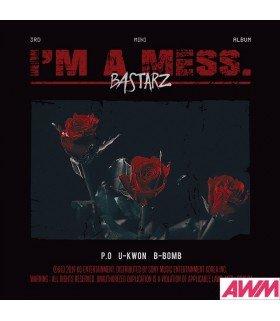 Bastarz (블락비 바스타즈) Mini Album Vol. 3 - I'M A MESS (édition coréenne)