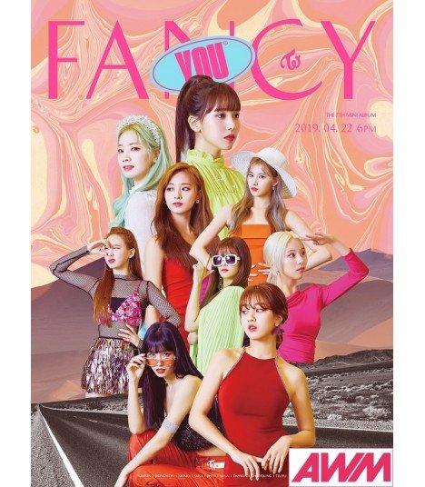 TWICE (트와이스) Mini Album Vol. 7 - FANCY YOU (édition coréenne)