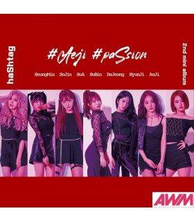 HASHTAG (해시태그) Mini Album Vol. 2 - Aeji paSsion (édition coréenne)