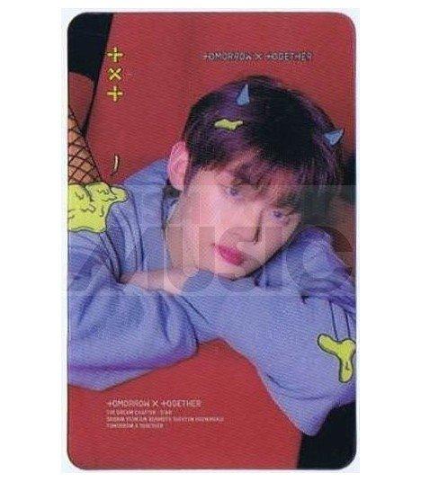 TXT - Carte transparente YEONJUN (THE DREAM CHAPTER: STAR / TYPE B)