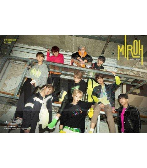 Affiche officielle Stray Kids - CLÉ 1 : MIROH (Type B)