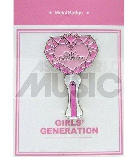 Girls' Generation LIGHT STICK - Pin's métal (Import Corée)