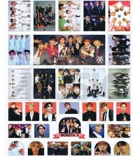 Monsta X - Set de stickers 011