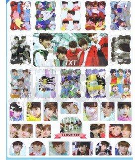 TXT - Set de stickers 001