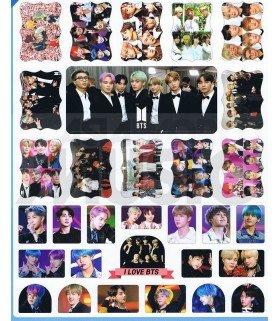 BTS - Set de stickers 019