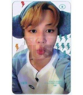 BTS - Carte transparente JIMIN (RUN BTS 2019 / SAUNA SCENE)