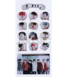 BTS - Stickers & Card 3D (Nouvelle collection) 003