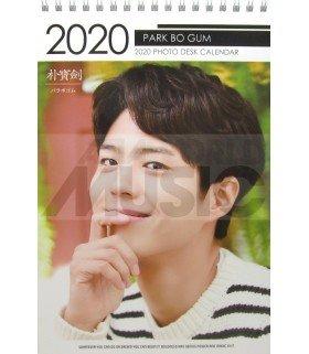 PARK BO GUM - Calendrier de bureau 2020 / 2021