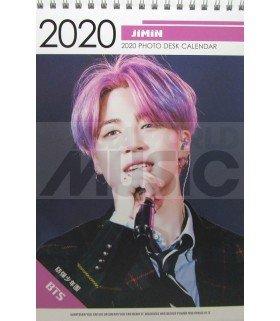 JIMIN (BTS) - Calendrier de bureau 2020 / 2021 (Type A)