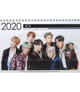 BTS - Calendrier de bureau 2020 / 2021 (Type A)