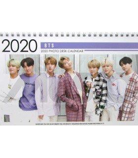 BTS - Calendrier de bureau 2020 / 2021 (Type B)