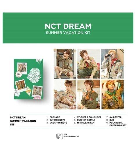 NCT DREAM - 2019 NCT DREAM SUMMER VACATION KIT (édition limitée)