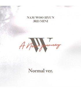 Nam Woohyun (남우현) Mini Album Vol. 3 - A New Journey (édition coréenne) (Poster offert*)