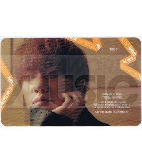 SEVENTEEN - Carte transparente THE 8 (YOU MADE MY DAWN)
