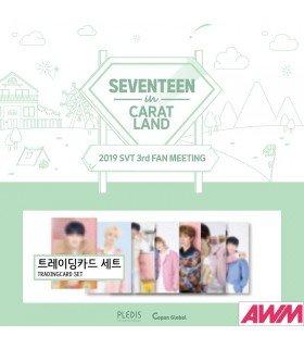 SEVENTEEN - Set de trading cards SEVENTEEN IN CARAT LAND (2019 SVT 3rd Fan Meeting)