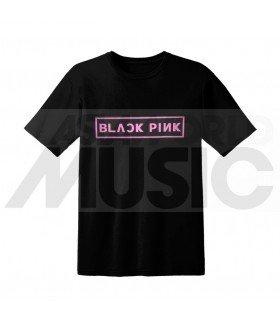 BLACKPINK - T-Shirt BLACKPINK LOGO (Black / Unisexe)